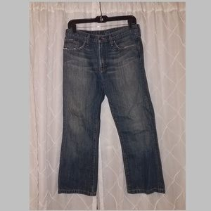 Mens Banana Republic jeans 30/30 bootcut Short !